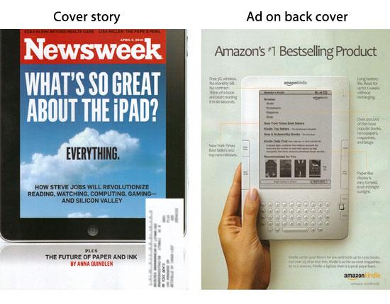 iPad vs. Amazon Kindle