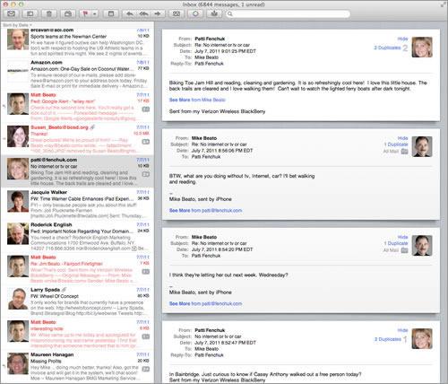 Apple Mail Lion