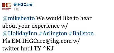 @IHGCare tweet