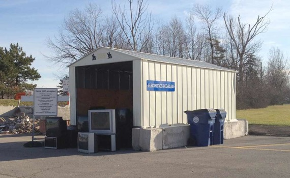 E-waste recycling in Amherst, NY