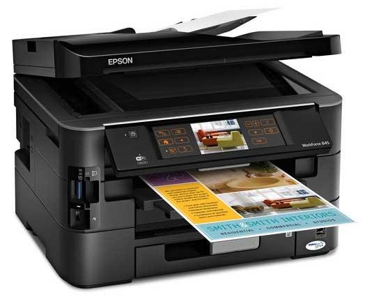 Epson WorkForce 845 Color Inkjet Printer