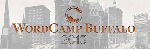 WordCamp Buffalo 2013