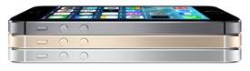 iPhone 5S - edge view