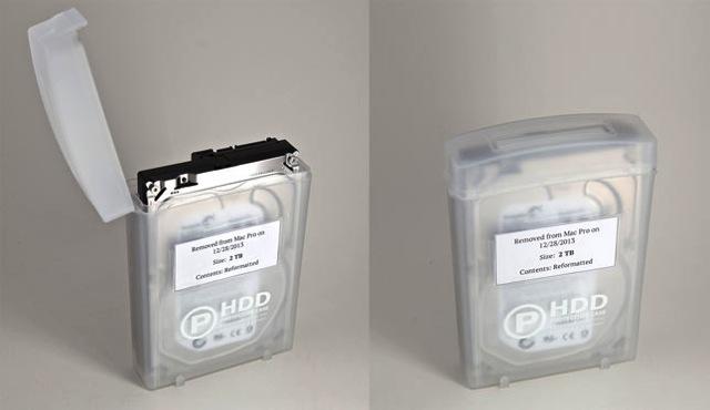 Hard drive storage cases