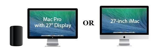 Mac Pro or iMac